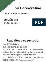 Derecho Cooperativo Lección 8