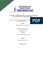 Carácter y Temperamento del actor como incidencia en la construcción del personaje teatral (21-08-20) corección