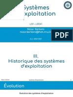 exploiting systems history