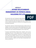 Saurabh Pepsico Project Part 1