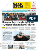??. Giornale di Brescia 30 Marzo 2020