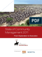2011 State of Community Management