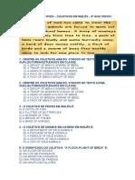 Atividade Collectives - Coletivos Em Inglês - 9º Ano 2021