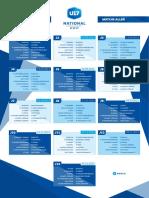 FOOTBALL U17 Nationaux calendrier