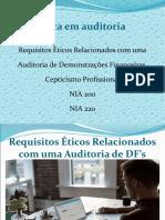 03 Aula Slide AE I - Perfil do Auditor - Etica em Auditoria