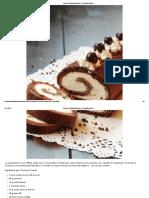 Rotolo al Cacao Mascarpone e Cioccolato