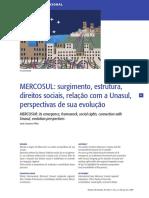 MERCOSUL_ surgimento