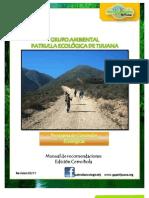 Cerro Bola Patrulla Ecológica de Tijuana recomendaciones caminatas ecológicas