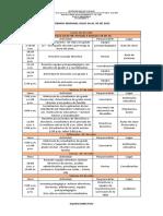 23. Agenda Semanal Julio 26 Al 30 de 2021