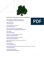 RESOURCEFUL WEB SITES IN GENEALOGY RESEARCH122007[1]