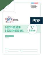 Cuestionario Socioemocional Monitoreo 2021 7 Basico