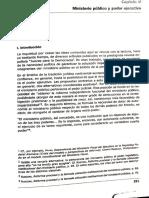 Alberto Bovino - Ministerio Publico y poder ejecutivo
