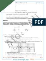 Série d'exercices - Sciences physiques Série RLC amorti et non amorti - Bac Math (2013-2014) Mr Afdal Ali