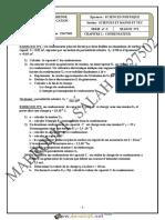 Série d'exercices N°2 Lycée pilote - Physique - CONDENSATEUR - Bac Sciences exp (2018-2019) Mr Mabrouki Salah
