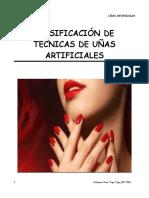 CLASIFICACIÓN DE UÑAS ARTIFICIALES