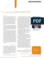 Creating Success with IDS