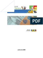 Catalogo Nacional de Cursos Técnicos