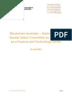 Senate Select Committee Paper