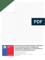 Estrategia de Cuidado Integral Centrado en Las Personas en Contexto de Multimorbilidad