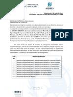 CIRCULAR No. 046 -2021  LIQUIDACION DE TEXTOS