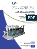 CKR SH - CKB SH - Profroid Compressor Pack System TECHNICAL FEATURES