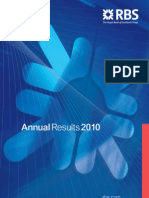 Announcement RBS Annual Results 2010