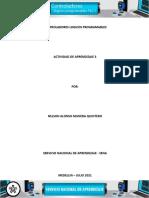 DESARROLLAR PROGRAMAS EN DIAGRAMA DE CONTACTOS