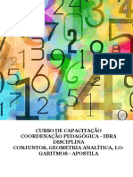 Conjuntos Geometria Análitica Logaritmos Apostila 1