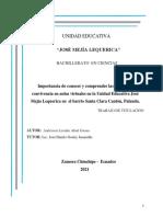 MODELO PROYECTO DE GRADO BACHILLERATO