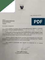 Solicitud de Pedro Castillo para sacar a general Wilson Barrantes