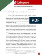 Performance, recepção, literatura, Paulo Zumthor