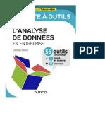 Clotilde Coron La Boite a Outils d Analyse Des Données d Entreprise