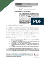 Demanda de Inconstitucionalidad contra la Ley 31288