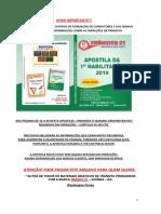 1) INFRAÇÕES DE TRÂNSITO - APOSTILA PDF