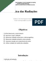 Biofísica das Radiacoes