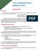 Définition Et Classification Des Diabétes Sucrés-converti