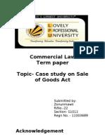 Commercial Law term paper (2)