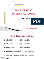Marketing Internacional -Power Point
