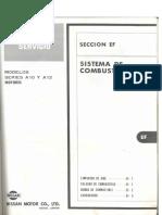 Sistema de Cobustible Datusn1200