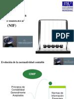 Normas de Información Financiera (NIF)