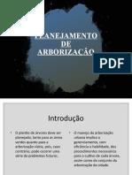 Planejamento de Arborização 2020