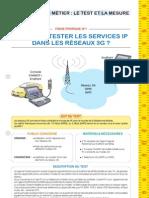 1 Comment tester les services IP dans les rseaux 3G