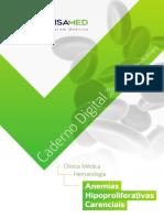 Caderno Digital Anemias