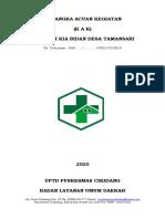 KAK Posyandu Tamansari 2020