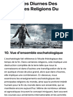 Prophéties Diurnes Des Principales Religions Du Monde | 2021