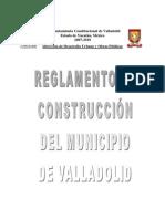 1a4ac1 Reglamento de Construccion Del Municipio
