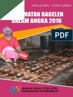 Kecamatan Bagelen Dalam Angka 2016