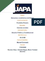 TAREA 1 DERECHO POLITICO