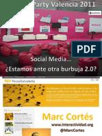 ¿Es el social media la nueva burbuja 2.0?