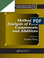 Methods of Analysis of Food Components.en.es
